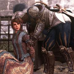 Ezio redt Pantasilea.