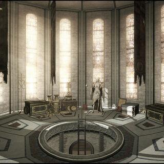 伊尔塔尼墓室全景图。