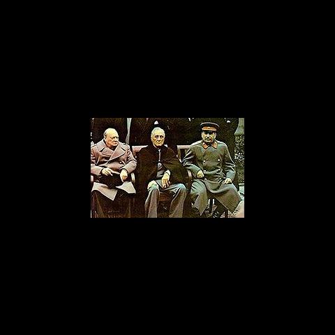 <b>Staline</b> à la conférence de Yalta