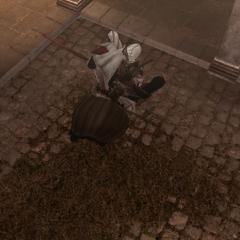Ezio assassinant Ristoro