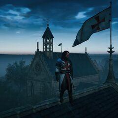 Sur les toits de la forteresse