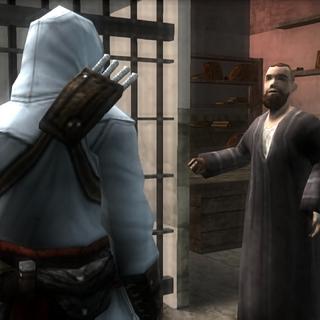 马科斯请求阿泰尔救出抵抗军成员