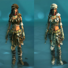 Wild Beast and Cold Beauty costumes for the Rebel