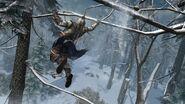 Connor saute de branche en branche