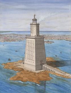 DTAE Lighthouse of Alexandria - Jean-Claude Govin