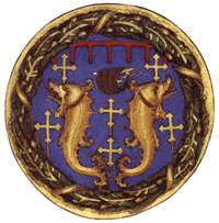 Pazzi's coat of arms