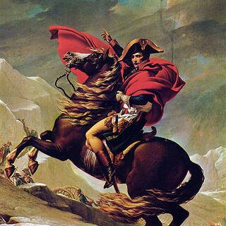 Gemälde von Napoleon Bonaparte.