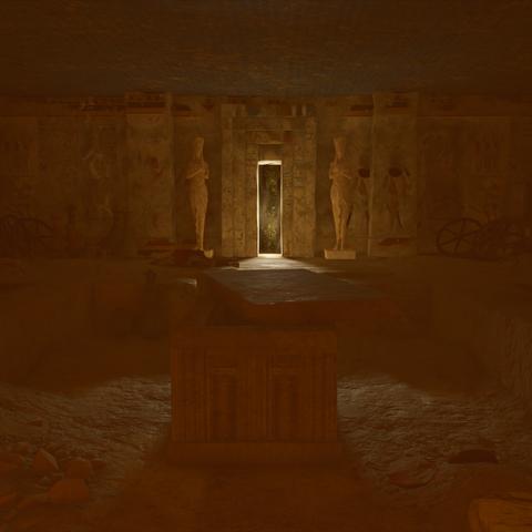 纳芙蒂蒂的石棺与通往亚鲁的暗门