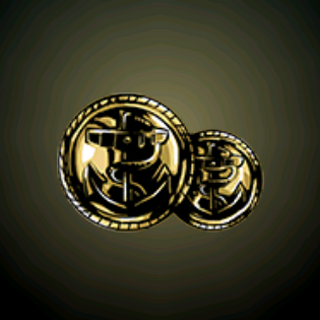 船长的钮扣 - 从皇家海军制服掉下的黄金钮扣。
