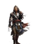 Edward Kenway concept art fronte