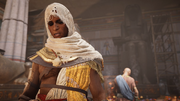 ACO The Scarab's Lies - Bayek thinking of Khemu
