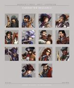 ACU Companion App Characters - Concept Art