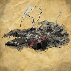 Les restes du costume du pauvre