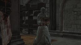 Asasyn wnoszący Skarb Templariuszy