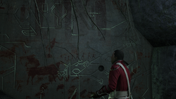 Haytham in grot