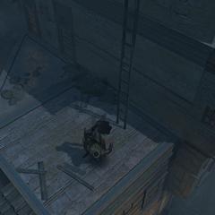 Vali assassinating a guard