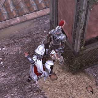 Ezio assassinant Galvano