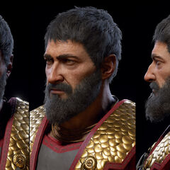 中年尼科拉欧斯的头部模型