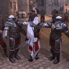 埃齐奥刺杀两名警卫