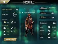 ACP profile screenshot