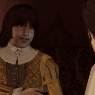 Petruccio samen met Ezio.
