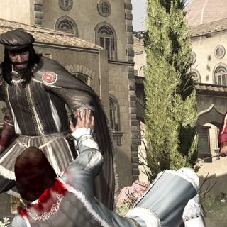 弗朗切斯科与贝尔纳多攻击朱利亚诺