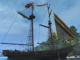 双桅纵帆船