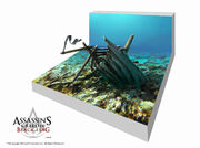 Assassin's Creed IV Black Flag Underwater gameplay element by max qin