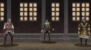 Assassin - Antonio de Maianis - With Luis and Ezio.