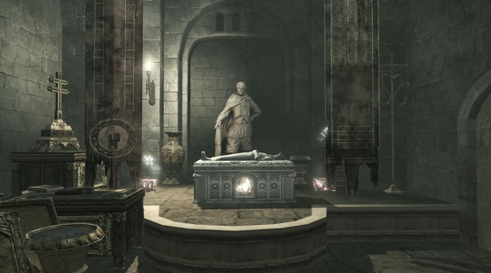 Assassin tomb