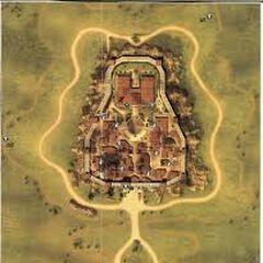 Kaart van Monteriggioni.