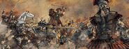 Romains bataille