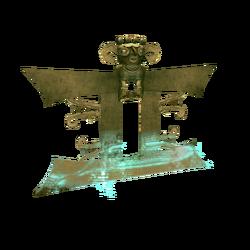 AC4DB - Bat-nosed figurine