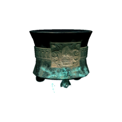 AC4DB - Tripod Vessel with Date Glyph