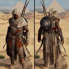 埃及白色套装