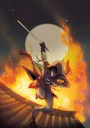 Blade of Shao Jun non-title cover by Mirka Andolfo