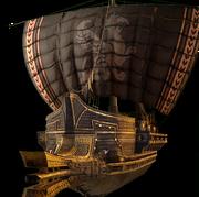 ACOD The Black Wind ship design