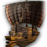 ACOD The Black Wind ship design