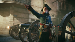 ACU. Napoleon cannon