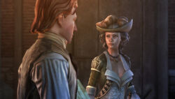 Aveline in-game screen