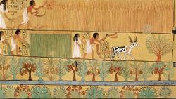 DTAE Tomb of Sennedjem Art