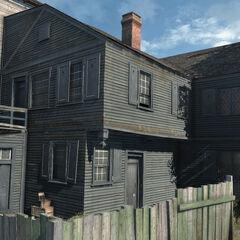 里维尔在波士顿的家
