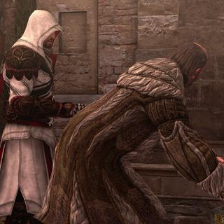 埃齐奥告诉埃吉迪奥,让他打听城里的政治状况然后偶告诉玛丽亚