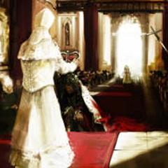 在威斯敏斯特教堂举行的查理二世的加冕礼