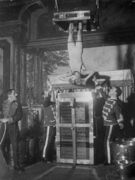 AC2 - Houdini beginning the Water Torture Cell