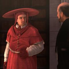 红衣主教与朱利亚诺碰面