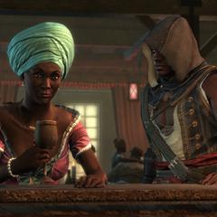 巴斯蒂安娜和阿德瓦莱在玫瑰夫人妓院