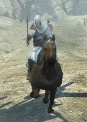 Altaïr jadący na koniu (ACR) (by Kubar906)