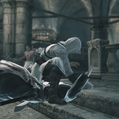 Altaïr assassinant <b>Garnier</b>