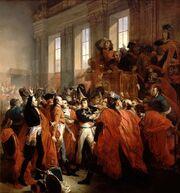 Bouchot - Le general Bonaparte au Conseil des Cinq-Cents